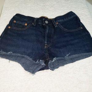 Levi's 501 cheeky Denim shorts